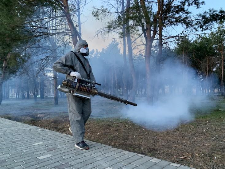 Уничтожение комаров недорого в г. Чебоксары - Эко Фон
