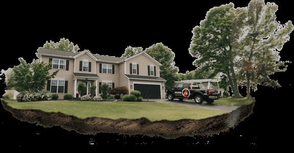Обработка загородной недвижимости